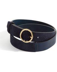 Jigsaw - Bonni Suede Circle Jeans Belt - Lyst