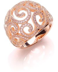 Bouton - Open Swirl Micro Pave Ring - Lyst