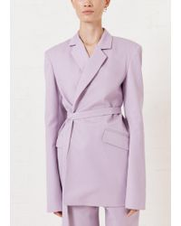 House of Holland - Lilac Tailored Suit Jacket - Lyst