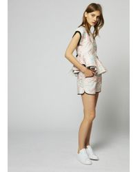 House of Holland - Palm Leaf Shorts - Lyst