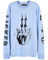 House of Holland - Pavement Licker -tshirt - Lyst