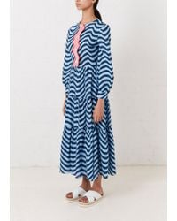 House of Holland - Long Hypnotic Dress - Lyst
