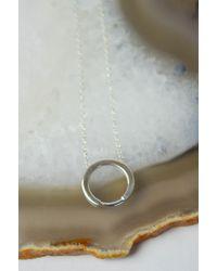 Still House | Silver Ora Necklace | Lyst