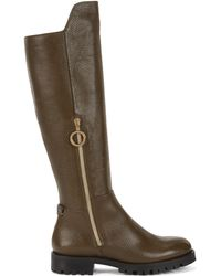 HUGO - Riding Boots In Italian Leather - Lyst