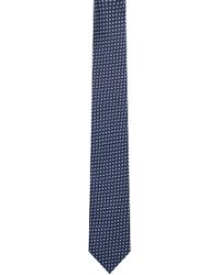 HUGO - Triangle Italian Silk Slim Tie - Lyst