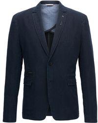 BOSS - Herringbone Cotton Linen Sport Coat, Slim Fit | Baxed - Lyst