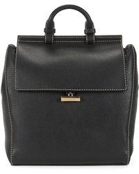 BOSS - Full-grain Leather Backpack | Soft Backpack - Lyst