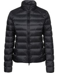 HUGO - Water-repellent Down-filled Jacket With Faux-leather Pipings - Lyst