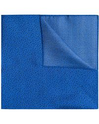 HUGO - Silk-twill Pocket Square With Printed Dots - Lyst
