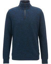 BOSS - Half-zip Sweater | Ztart-up - Lyst