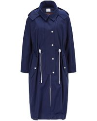 BOSS - Oversized-fit Hooded Outerwear Jacket In Water-repellent Twill - Lyst
