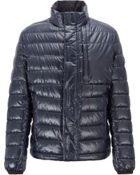 2e9c5d04caa BOSS Regular-fit Quilted Field Jacket With Water-repellent Outer in ...