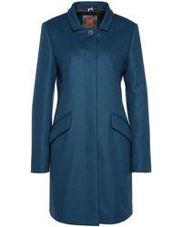 BOSS Orange - Slim-fit Coat In Wool Blend: 'okirana3' - Lyst