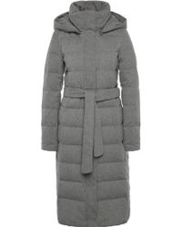 BOSS Orange - Quilted Coat In Water-repellent Material Blend With Down Padding: 'olunia' - Lyst