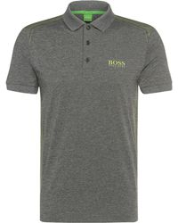 BOSS Green - Regular-fit Polo Shirt In Stretchy Fabric: 'paddy Pro 3' - Lyst