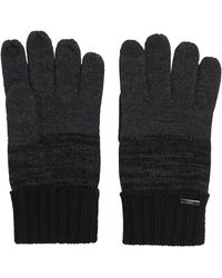 HUGO - 'men W' | Virgin Wool Touchscreen Knit Gloves - Lyst