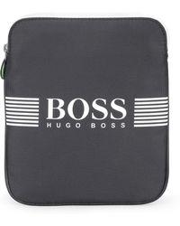 BOSS Green - 'pixel S Zip Env'   Nylon Crossbody Bag - Lyst