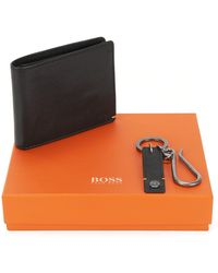 BOSS Orange - Leather Billfold Wallet With Coin Pouch | Gb017fw 4cc Coin - Lyst