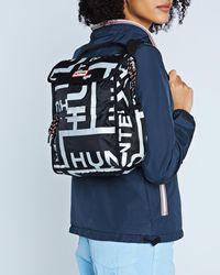 HUNTER - Original Reflective Logo Packable Backpack - Lyst