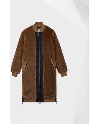 HUNTER - Refined Faux Fur Coat - Lyst