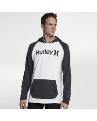 Hurley | One And Only Raglan Jersey Hoodie | Lyst