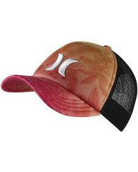 Hurley - Colin Trucker Adjustable Hat (red) - Clearance Sale - Lyst