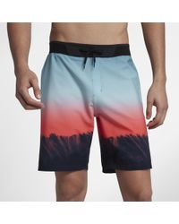 "Hurley - Phantom Hyperweave Estuary 18"" Board Shorts - Lyst"