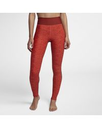 Hurley - Surf Cheetah Mesh Leggings - Lyst