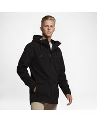 278ff342608 Lyst - Hurley Men s Protect 2.0 Full-zip Hooded Jacket in Black for Men