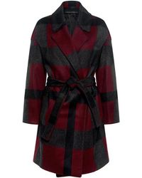 Mother Of Pearl   Morgan Plaid Wrap Coat   Lyst