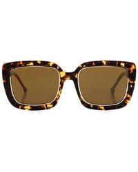 Preen By Thornton Bregazzi - Norwich Square-frame Sunglasses - Lyst