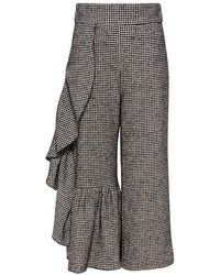 Rachel Comey - Houndstooth Revel Wool Cropped Pants - Lyst