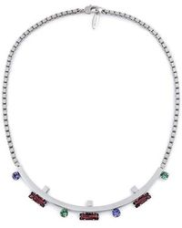 Joomi Lim - Pixel Perfect Crystal Cube Necklace - Lyst
