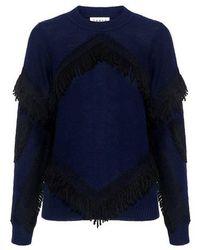 Tanya Taylor - Cha Cha Fringe Sweater - Lyst