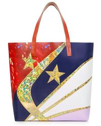 074df4919fa Karen Walker - Glitter Star Tote Bag - Lyst