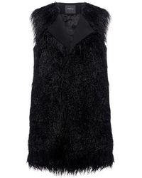 Theory Mongolian Fur Vest