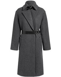 IRO - Accelerate Wool-blend Belted Long Coat - Lyst