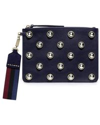 Carven - Studded Clutch - Lyst