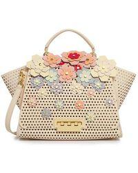 Zac Zac Posen - Eartha Hex Floral Kit Soft Top Handle Bag - Lyst