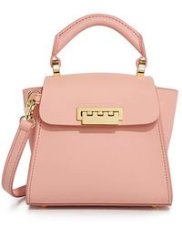 Zac Zac Posen - Eartha Iconic Mini Top Handle Cross Body Bag - Lyst