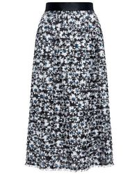 Mother Of Pearl - Harriet Floral Midi Skirt - Lyst