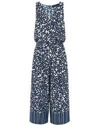 Thakoon - Floral Crop Jumpsuit - Lyst