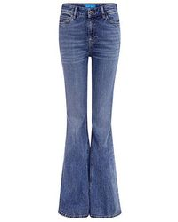 M.i.h Jeans - Stevie High Rise Flare Jeans - Lyst