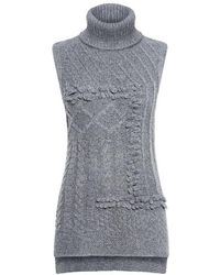 10 Crosby Derek Lam - Oversized Turtleneck Sweater - Lyst