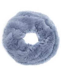 Meteo by Yves Salomon - Rabbit Fur Snood - Lyst