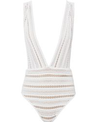 Nightcap - Barett Lace One Piece Swimsuit - Lyst