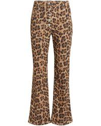 Miaou - Junior Leopard Jeans - Lyst