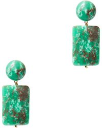Lele Sadoughi - Keepsake Stone Earrings - Lyst