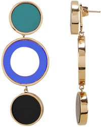 Colette Malouf - Reflection Blue Earrings - Lyst