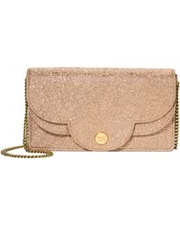 See By Chloé - Polina Glitter Chain Wallet - Lyst